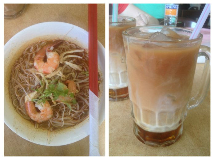 Sarawak Laksa and Teh-C Peng for breakfast, anyone?