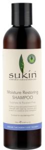 For Hair: Sukin Moisture Restoring Shampoo, $14.90