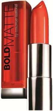 Maybelline Bold Matte lipstick