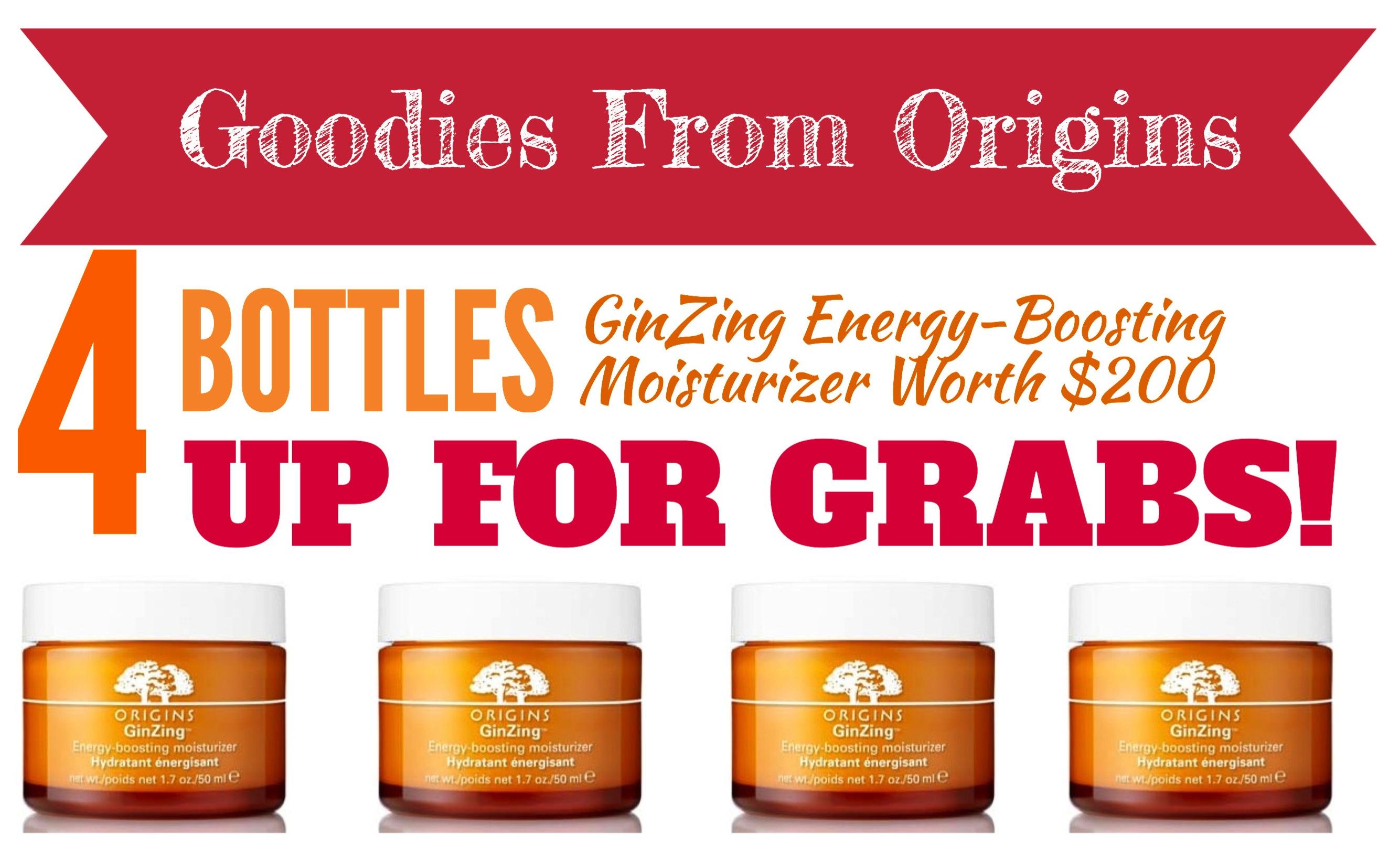 Ginzing Energy-Boosting Gel Moisturizer by origins #19