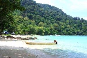 Idyllic island life at Palau Tenggol