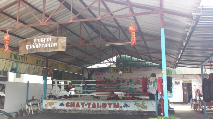 Beyond shopping and eating, Thailand has a lot to offer ... like training in an authentic muay thai gym!