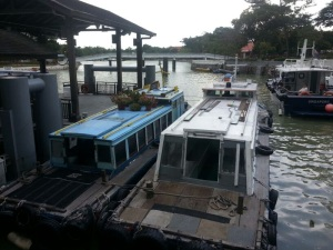 Unlike the sterile MRT and cabs, every bumboat is different and unique.