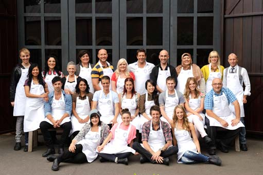Contestants on Masterchef Australia Season 4