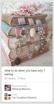 Wow! Isn't it great when all your earrings kinda fall into the same theme?