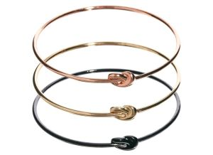 French Connection Knot Bangles
