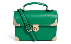 Johnny Loves Rosie Green Bag