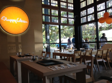 The light-filled interior of Slappy Cakes makes it a great breakfast place.