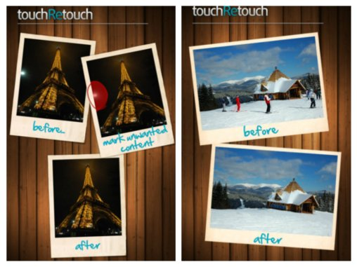 TouchRetouch collage