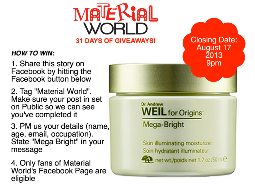 """Share this story """"Social Media Envy"""" on Facebook and stand a chance to win this prize!"""