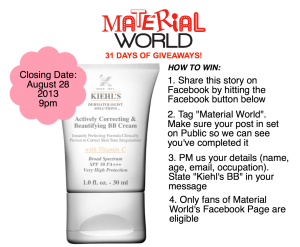 Share this story to enter your name for this draw!
