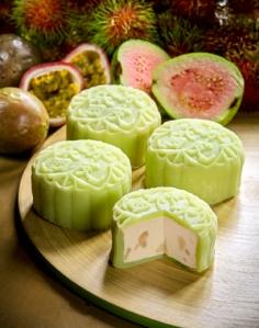 Goodwood Park Hotel -Pink Guava, Passionfruit & Rambutan Snowskin Mooncake