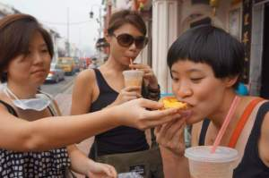 And who else will willingly share their egg tart with you?
