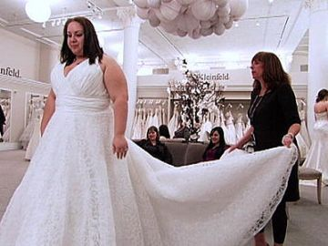I think bridal gown studios are OBLIGED to provide for brides who aren't size 2