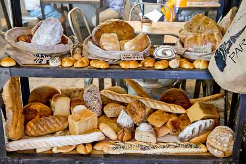 You'll be spoiled for choice with Anthesis' extensive bread selection.