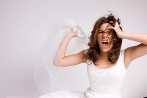 What is it about weddings that turn perfect sensible women into raging ogres?