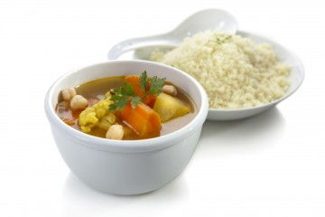 Couscous and soup, $11.90