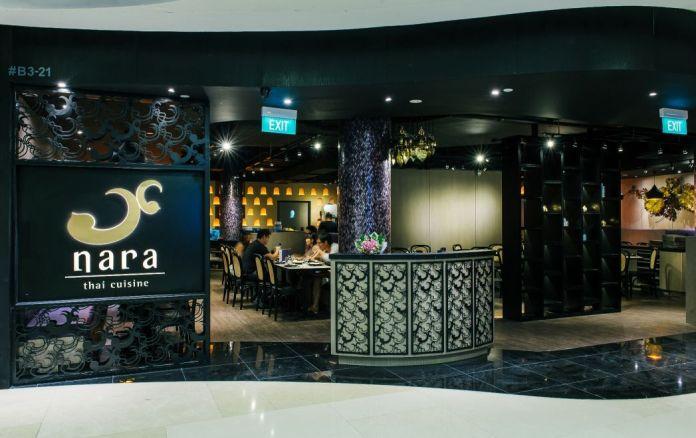 Nara Thai Cuisine replaces Burger King, at Ion Orchard