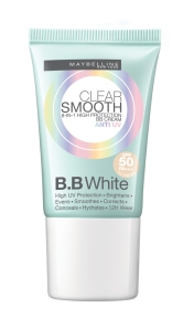 Maybelline Clear Smooth BB UV White Cream, $17.90