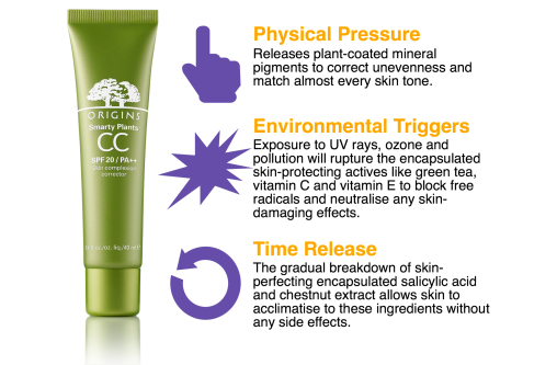 How smart is Origins' new CC cream?