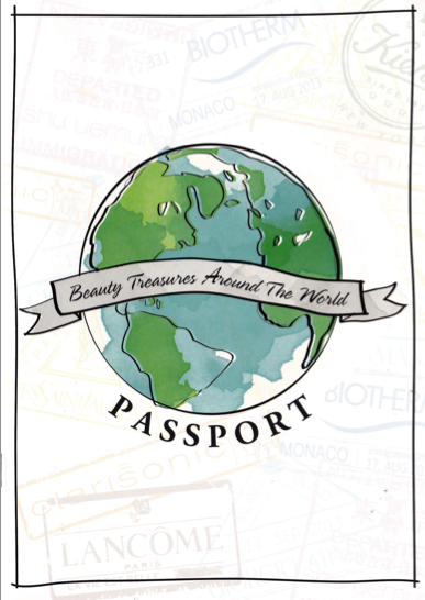 The cover of the Beauty Passport