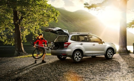 Yep. You will have to drive an SUV to wherever you intend to start cycling ...