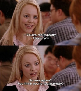 Regina George ... the most toxic friend there is!