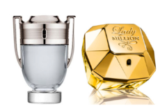 Every couple received a pair of Paco Rabanne fragrance miniatures!
