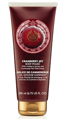 The Body Shop Cranberry Joy Body Polish, $20.90