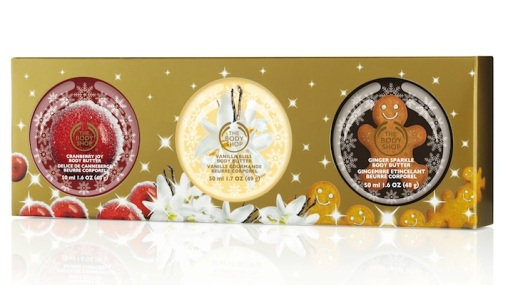 The Body Shop Festive Body Butter Trio, $29.90
