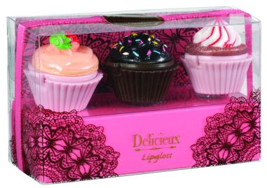 Delicieux Lipgloss Set, $2.90