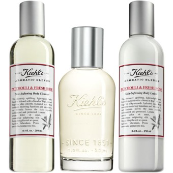 Kiehl's Aromatic Blends Patchouli & Fresh Rose