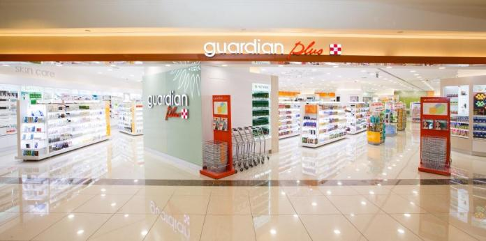 The new Guardian Plus at Takashimaya Shopping Centre