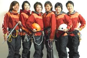 The very inspiring Singapore Women's Everest Team!