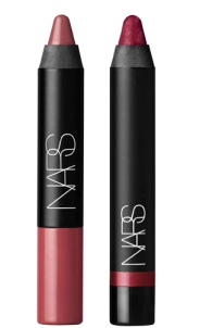 I really like the creamy, matte textures of the Nars Velvet Matte Lip Pencils.