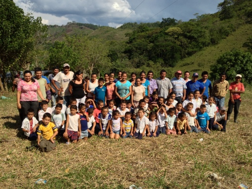The community that will benefit from the building of the new school in