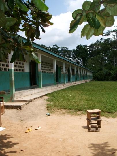 A school in southern Ghana