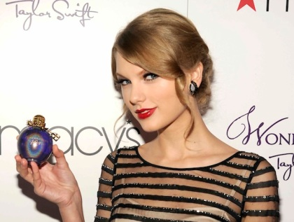 Will Taylor Swift's fans rush to buy her perfumes?