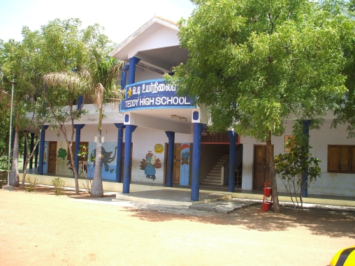 Teddy High School, Tamil Nadu, Southern India