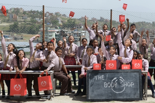 The beneficiaries of Get Paper Industries, Nepal