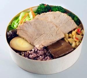 Woo's Healthy Rice Box, $8.30