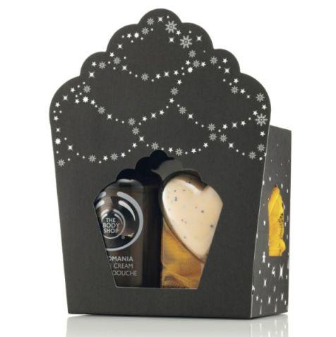 Consists of Shower Cream (60ml), Mini Heart Soap (25g), 2 x Ultra Fine Bath Lily Orange