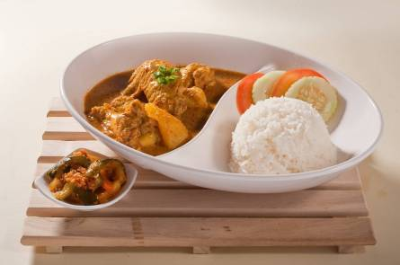 Chicken curry at Fun Toast