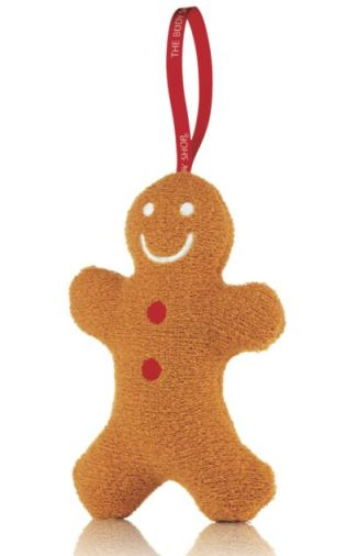 Gingerbread Man Wash Sponge