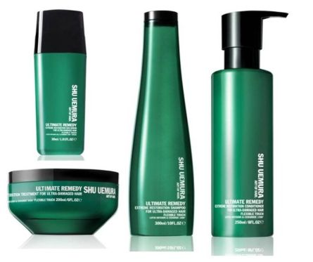 Shu Uemura Art of Hair Ultimate Remedy - Extreme Restoration full range