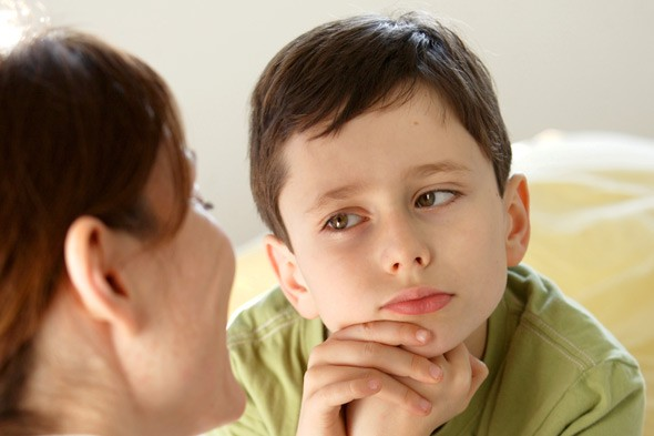 Asking the wrong questions could result in your child shutting down.