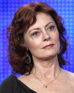 Acclaimed actress Susan Sarandon's eye area shows how - with age - with the loss of skin density and fat, the socket area of the eye becomes more pronounced.