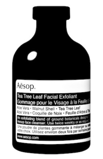 Tea Tree Leaf facial Exfoliant 30g BW