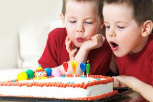 'fess up. How many pictures did you take of your kid blowing out his birthday candles?