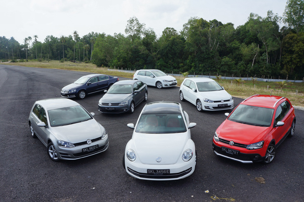 The Volkswagen Cat A Cars we took for this road-trip